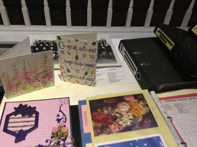 Lots of cards from well wishers