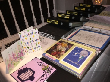 Cards from well wishers
